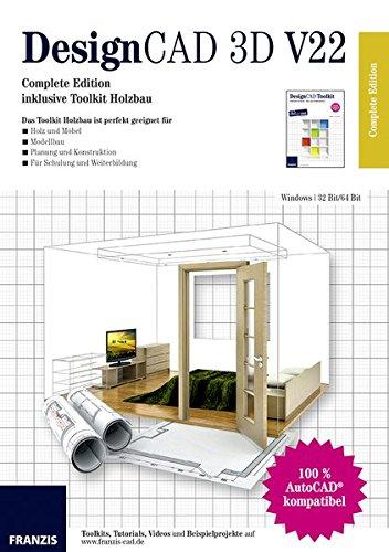 DesignCAD 3D V22 Complete Edition - Holzbau