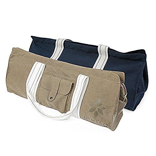 Neun CIF Yoga-Matte Tasche mit wasserdicht Tasche und strapazierfähig Gurt, blau