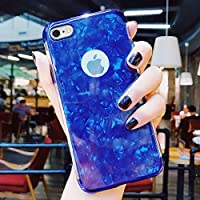 iPhone 6S Hülle,iPhone 6 Hülle,SainCat Dreistufig Plating Überzug Marmor Shell Muster TPU Schutz Handy Hülle für... preisvergleich bei billige-tabletten.eu