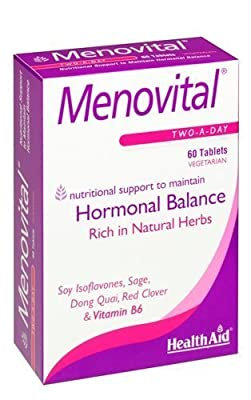 HealthAid Menovital 60 Tablets - CLF-HAD-803185 by HEALTH AID