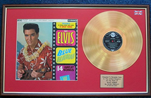 Karat Gold Disc und Cover - Blau Hawaii ()