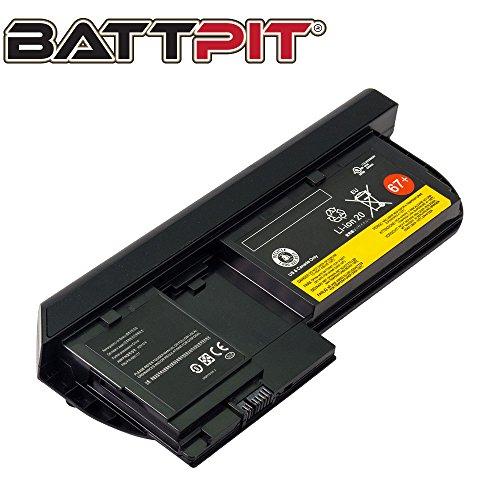 Battpit Laptop Akku für Lenovo 0A36285 0A36286 0A36316 0A36317 42T4877 42T4878 42T4879 42T4880 42T4881 42T4882 45N1075 45N1076 45N1077 45N1078 45N1079 45N1177 ThinkPad Tablet X220 X230 [5130mAh/63Wh] (X230 Tablet Thinkpad)