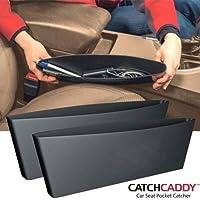 bosig® Catch Caddy Internal Storage Organizer for Car Seat Side Gap Pocket (Multicolour) -2 Pieces