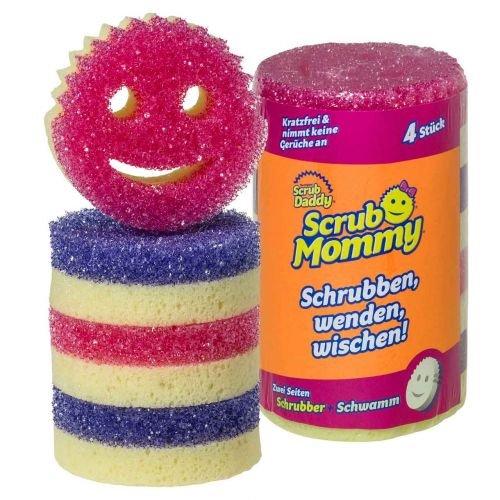 Scrub Mommy 4er Rolle - spezieller Reinigungsschwamm