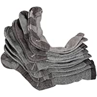 YTAT 6 confezioni di lana calzini Perfetto per backpacking, trekking, outdoor e avventura respirabile comodo disegno calzini per uomini e donne, 38-42