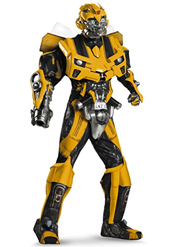Disguise 198554 Transformers 3 Dark Of The Moon Film - Bumblebee 3D Theaterauff-hrung mit Vacuform Kost-m - Gelb - X-Large - (Bumblebee Erwachsene Kostüme)
