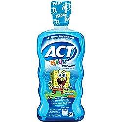 ACT Kids SpongeBob Ocean Berry Anticavity Fluoride Rinse, 16.9 oz