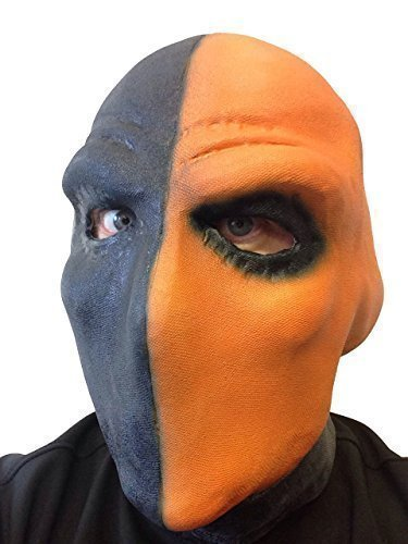 Deathstroke Kostüm Maske Deadpool Film Taskmaster Arrow TV Serie Slade Wilson Bösewicht Comic Kostümparty - Deathstroke Orange (Slade Wilson Deathstroke Kostüm)