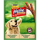 Friskies Picnic Maxi Cane Snack Ricco in Manzo, 45 g - Confezione da 18 Pezzi