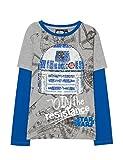Desigual TS_Oskar, Camiseta Niños, (Gris Vigore Claro 2042)