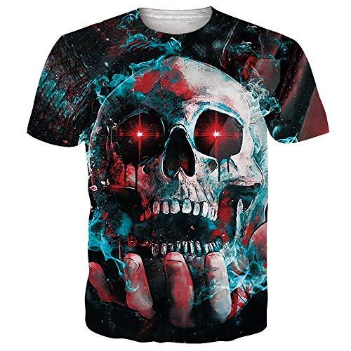 Funnycokid Cool T-Shirts All 3D 3D Graphic Tees gedruckt Bunte Sommer Teen Jungen T-Shirt -