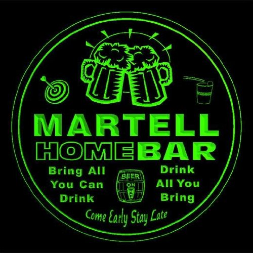 4x-ccq28589-g-martell-family-name-home-bar-pub-beer-club-gift-3d-coasters