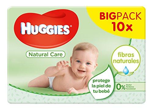 Huggies Natural Care - Toallitas para bebé, 560 toallitas