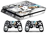 Skin Ps4 SLIM - CRISTIANO RONALDO REAL MADRID - limited edition DECAL COVER Schutzhüllen Faceplates playstation 4 SONY BUNDLE
