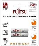 Fujitsu Wiederaufladbare Akku (2x AAA) weiß