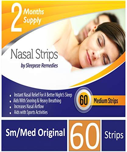 Tiras nasales mediana x60 | Dilatador nasal Sleepeze
