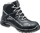 Steitz Secura VX 7750 Perbunan Sicherheits-Stiefel S3 SRC ESD EN ISO 20345 schwarz grau   042