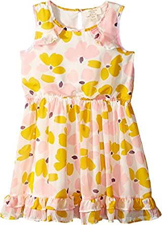 7e0702e40 Kate Spade New York Kids Baby Girl's Ruffled Hem Dress (Toddler/Little  Kids) Paint Daub Floral 6: Amazon.co.uk: Clothing