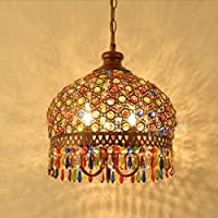 Amazones lamparas cristal de bohemia Iluminacin