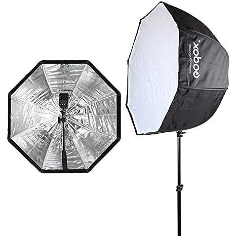 Godox 80 cm/31,5in-Ombrello ottagonale Softbox portatile Riflettore per Studio fotografico