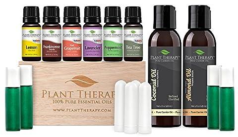 Ätherisches Öl Starter Set Ätherisches Öl 100% reine, unverdünnte, Therapeutic Grade