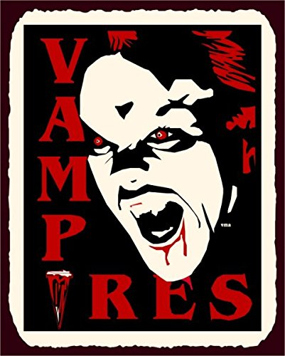 vampiro-halloween-vintage-metal-art-latta-metallo-tin-sign-7-x-10-segni-in-metallo-vintage