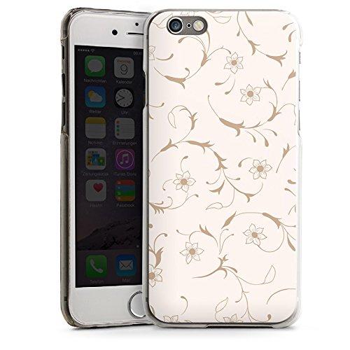 Apple iPhone 5s Housse étui coque protection Fleur Fleurs Fleurs CasDur transparent