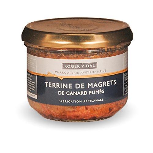 Roger Vidal – Pastete mit geräucherter Entenbrust (Terrine de Magrets de Canard fumés) 180 g