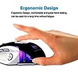 Gaming Mouse, Werleo 8boutons haute précision de DPI Professional USB Souris...