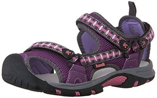 Kamik Jetty, Unisex-Kinder Geschlossene Sandalen, Violett (Purple/Pur), 32 EU (Jetty Sandale)