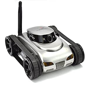 TODEAL 777-270 WiFi i-spy Tank Car Toy With Camera Remote