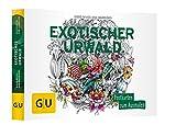 Exotischer Urwald: Postkartenbuch zum  Ausmalen (GU Kreativ Non Book Spezial) -