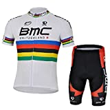 Strgao 2016 Herren Pro Rennen Team BMC MTB Radbekleidung Radtrikot Kurzarm und Radhosen Anzug Cycling Jersey Shorts suit