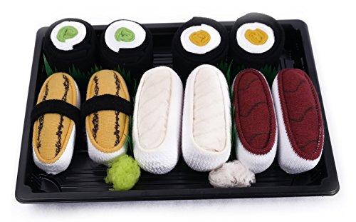 sushi-socken-5-paar-tamago-butterfisch-thunfisch-gurke-maki-maki-oshinko-eu-36-40-41-46-in-europa-he