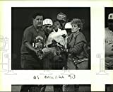 Photo Vintage Historique 1990 Rick Montez, Burbank High School Baseball Pichet Hurt at Game 20,3 x 25,4 cm