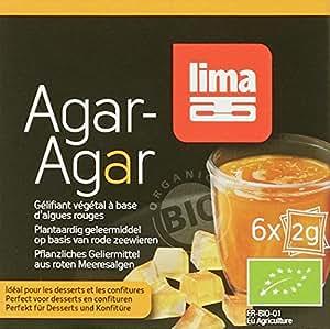 Lima Agar en Poudre 6 x 2 g