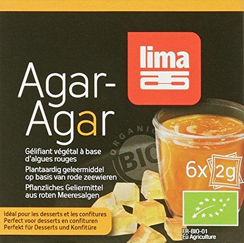 Lima Agar en Poudre Bio 6 x 2 g