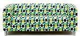 Artefly Klippan Sofabezug Design ESTRELLA mit Kissen Bezug passend für Ikea Klippan Zweisitzer