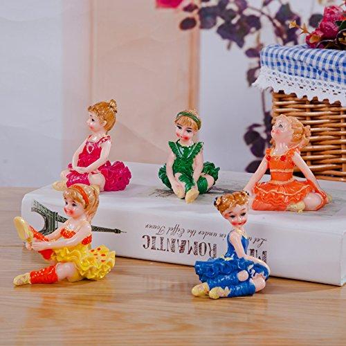 Ballerine Cartoon résine décorative d'ameublement de maison cadeaux décoration bureau céramique