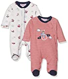 Mayoral 2723 Set 2 Pijamas Interlock, Bebés, Red, 2M-4M