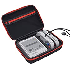 SNES Classic Mini Case – Premium Quality Hard Travel Carrying Bag for Nintendo Super SNES Classic Edition Console and Accessories - Best Game Travel Box Protection box