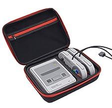 esimen SNES Classic Mini caso–Calidad Premium duro bolsa de viaje para consola Nintendo Super SNES Classic Edition y accesorios–mejor juego caja de viaje caja de protección