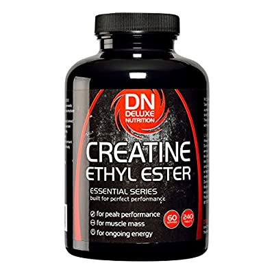 Deluxe Nutrition Creatine Ethyl Ester (CEE) 500mg 240 Tablets by Deluxe Nutrition