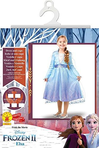 Rubie's - Déguisement Officiel Elsa La Reine Des Neiges 2 - Taille 7-8 ans - I-300284L