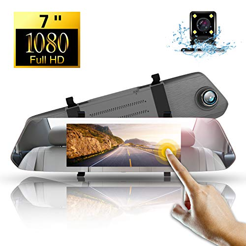 Dashcam Full HD,Directtyteam Autokamera Dashcam Rückfahrkamera Set Autokamera 1080P DVR