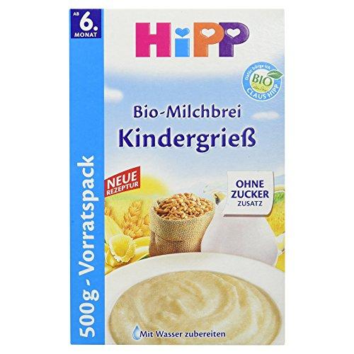 Hipp Bio-Milchbrei Kindergrieß, 500 g