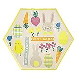 Hip Hop Hooray - große Pappteller - Ostern