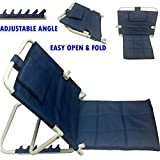 #4: Albio Hospital/ Floor Back Rest For Use On Bed - Powder Coated