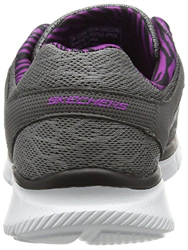 Skechers Equalizer - Step Lively, Sneakers Da Donna Grigio (Ccpr)