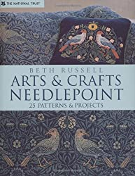 Arts and Crafts Needlepoint: 25 Patterns & Projects